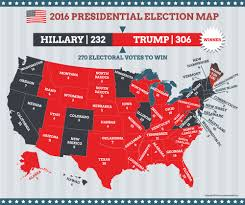 Electoral College Maps 2016 Projections Amp Predictions by Us Presidential Map