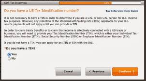 tax information for amazon