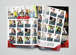 yearbook template design vol 2 by hiro27 graphicriver