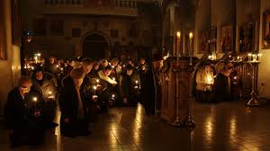 christian prayer praying to god as on clean thursday