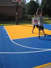 Home Basketball Court Surface Versacourt Game Courts Versacourt - Home basketball court design
