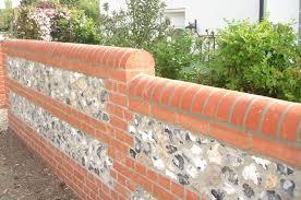 bricklaying bricklayer brick work block work flint work walls