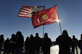Standing Flag Banners Robert Redford Stay Inspired On Standing Rock Time