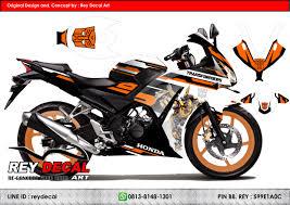 honda cbr 150r orange colour reydecal com decal honda suzuki yamaha kawasaki etc