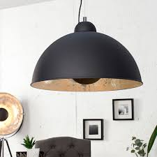 Wohnzimmerlampe Kupfer Moderne Hängelampe Studio Schwarz Gold Lampe Blattgold Living
