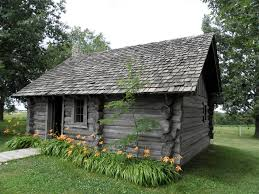 replica of laura ingalls wilder u0027s log house in