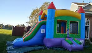 inflatable water slides and bounce house rentals marengo il