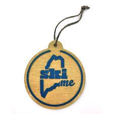 skime wooden ornament liveme