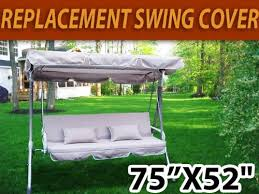 Patio Swing Covers Replacements Amazon Com Outdoor Swing Canopy Replacement Porch Top Cover Seat