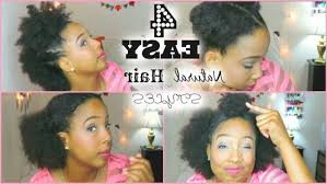 prime easy natural hairstyles for short hair