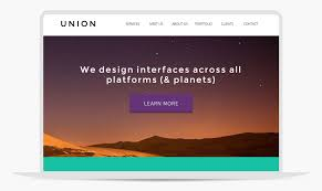 free muse template union adobe muse template by musethemes com
