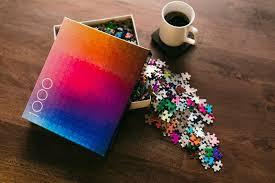 color spectrum puzzle gradient color puzzles color puzzle