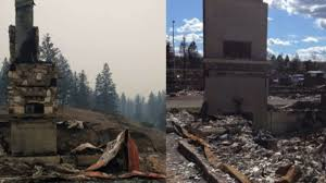 canadian homes man loses two homes to wildfires cnn video