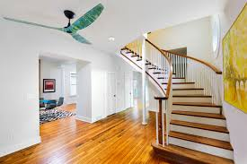 Laminate Flooring For Ceiling You Can Now Take These Hand Painted Haiku Smart Ceiling Fans For A