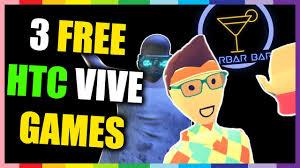 3 free htc vive games rec room quanero u0026 barbar bar youtube