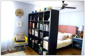 room divider bookshelf rattan mid century room divider cubist