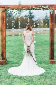 wedding arches rustic 36 wood wedding arches arbors and altars weddingomania
