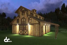 Barn Floor Plans With Living Quarters by Barn Blueprints With Living Quarters Barn Decorations