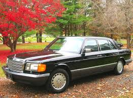 mercedes 560sel 1991 mercedes 560sel left front view cars today