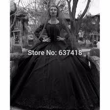 robe de mari e gothique aliexpress acheter 2017 robe de bal noir robes de mariée