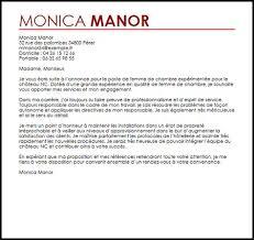 lettre de motivation femme de chambre hotel de luxe exemple lettre de recommandation femme de ménage 28 images