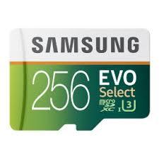 Memory Card Samsung 256gb samsung 256gb 95mb s microsdxc evo select memory card