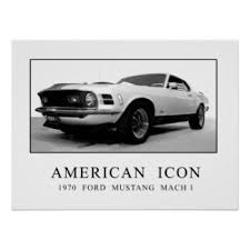 1970 Mustang Mach 1 Black Mach 1 Gifts On Zazzle