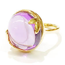amethyst rings tiffany images Tiffany co paloma picasso 18 karat yellow gold olive leaf with jpg