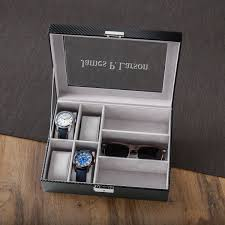 box personalized men s and sunglasses box personalized