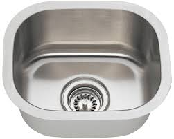 16 Gauge Kitchen Sink by Lb 400 Bs Esi Stainless Single Bowl 16 Gauge Undermount Kitchen Sink