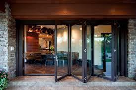 Folding Doors Patio Modern Style Accordion Glass Doors Patio And Folding Doors