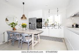the kitchen table front view banner kitchen table fancy stock photo 667219141