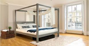 Four Post Canopy Bed Frame Four Poster Bed Classic For Etsy Get Laid Beds