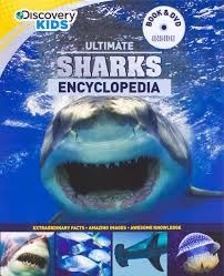 ultimate sharks encyclopedia w dvd discovery kids parragon