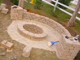 Backyard Sand Creatively Luxurious Diy Fire Pit Project Here To Enhance Your