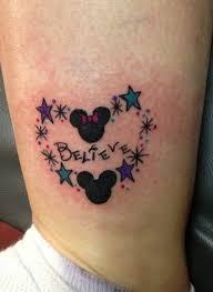 believe mickey and minnie tattoo theme parks i love juxtapost