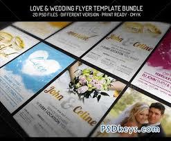 wedding flyer bundle iii wedding flyer template 2233298 free