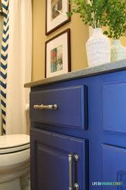 Painted Bathroom by Bathroom Vanity Makeover Using Country Chic Paint Life On