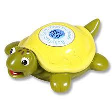 bathtub thermometer floating amazon com babylian floating toy tortoise bath thermometer for