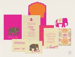 Indian Wedding Invitation Designs Modern Indian Wedding Invitations Badbrya Com