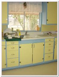 Kitchens With Yellow Cabinets Yellow And Blue Kitchen Ideas Home And Cabinet Reviews