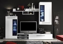 Wohnzimmerverbau Modern Beautiful Wohnzimmer In Schwarz Weiss Stil Photos Ghostwire Us