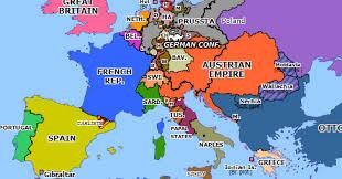 europ map year of revolution begins historical atlas of europe 24