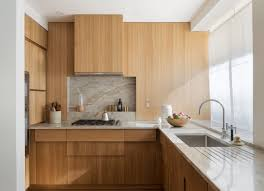 Oak Cabinets In Kitchen The Artful Shoebox Apartment Workstead Edition Remodelista