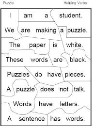32 best 1st grade linking helping verbs images on pinterest