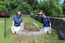 students create summer garden to grow donations to food bank