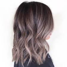shag haircut brown hair with lavender grey streaks silver highlights in light brown hair future purchase