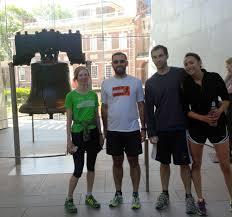 liberty bell 5k running tour not a race philadelphia pa 2017