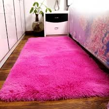 Soft Area Rug Fluffy Rugs Anti Skiding Shaggy Area Rug Dining Room Carpet Floor