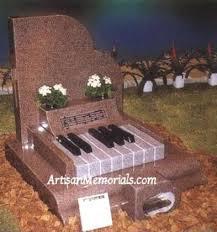 headstones grave markers piano grave markers piano headstone passare endoflifemgmt